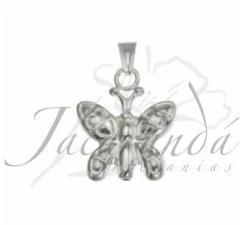 Colagante de Plata mariposa