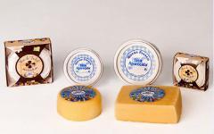 Leche, quesos y mantequilla