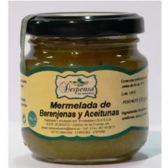 Mermelada de berenjena y oliva
