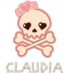 Camiseta Calavera Chica