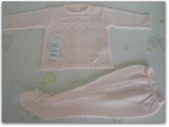 Conjunto rosa/beig