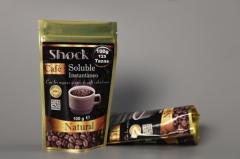 Café soluble shock bolsa de 100 g