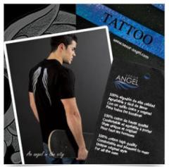 Camiseta Alas Angel SEÑOR ANGEL MOD34, negra