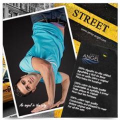 Camiseta urbano Street turquesa Street SEÑOR ANGEL MOD28