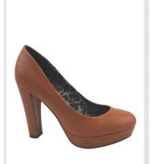 Zapato plataforma tacón medio