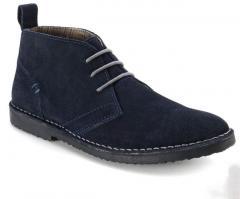 Zapatos con cordones piel vuelta