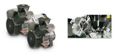 Compresor de piston 1,5-15KW / 2-20CV serie L