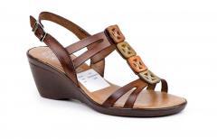 Zapato Mujer Piel Bone Bicolores Remaches Hebilla