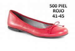 Francesita Mujer Piel Rojo Lazo Tallas Especiales