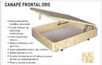Canapé Frontal Oro.