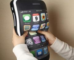Almohada forma iPhone