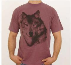 CAMISETA ANIMALS: LOBO