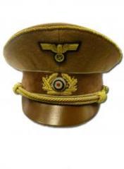 Gorra del partido Nacional Socialista con águila y