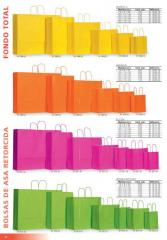 Bolsas de papel con asas