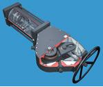 Actuadores neumáticos Actuadores de Giro