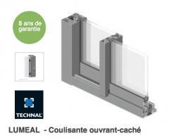 LUMEAL - Baie coulissante en aluminium