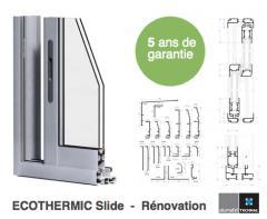 ECOTHERMIC Slide - Baie coulissante en aluminium.