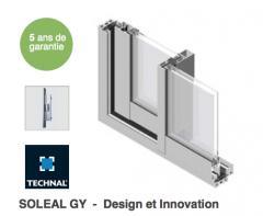 SOLEAL GY- Baie coulissante en aluminium
