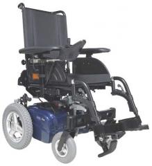 Invalid wheelchairs with the electric drive