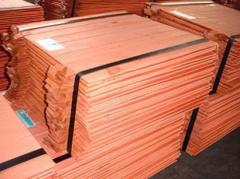 COPPER Cathode Grade A Purity: purity 99.99%-99.95% min
