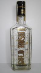 Vodka Gold Rush LUX con pepitas de oro comestible