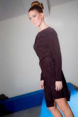 Vestido Con Sobrefalda de PenadeSuerte