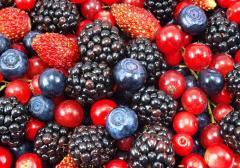 Frutos del bosque congelados