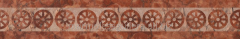 Red marble frieze