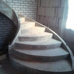 Escalera de hormigon