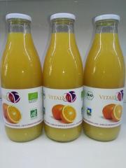 Zumo de Naranja orgánica VitalVie