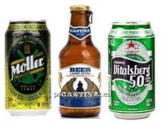 Cervezas en Lata o en Botella de Cristal con Apertura Manual