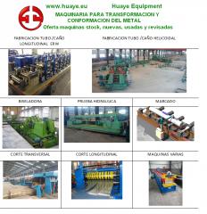 Maquinas para transformación del metal. Maquina