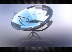 Cocina solar 45 cm