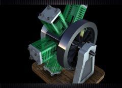 Motor magnético de 1kw y 90 rpm