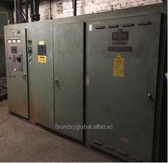 Horno de Inducción para fusión  INDUCTOTHERM POWER TRAK 1750