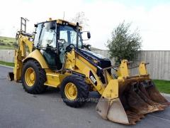 2007 CAT 432E  retroexcavadora