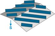 Estructura para huertos solares en cubierta EC101