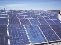 Planta solar fotovoltaica conectada a red de