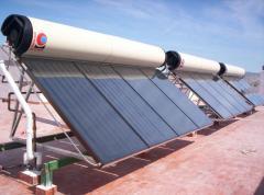 Sistema de captación y acumulación de energía solar térmica para la producción de ACS