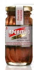 Conservas de anchoas en aceite vegetal