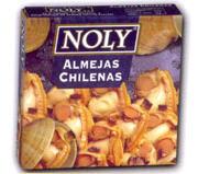Almejas, conservas