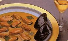 Mejillones a la crema