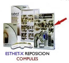 Composite estético Esthet-X Compules color amber