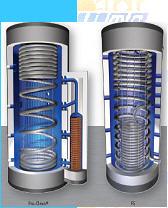 Acumulador de estratificación solar