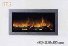 Chimenea efecto fuego Faber SP5 eléctrico