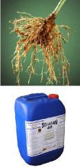 Liquido fumigante y desinfectante de suelo soluble
