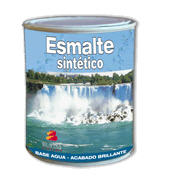 Esmalte sintético uretanado al agua para exterior
