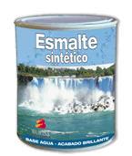Esmalte satinado uretanado al agua para exterior e