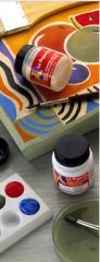 Pintura plástica y vinílica de acabado satinado