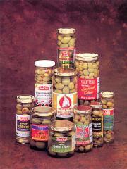 Aceitunas manzanilla con hueso/sin hueso/aliñadas